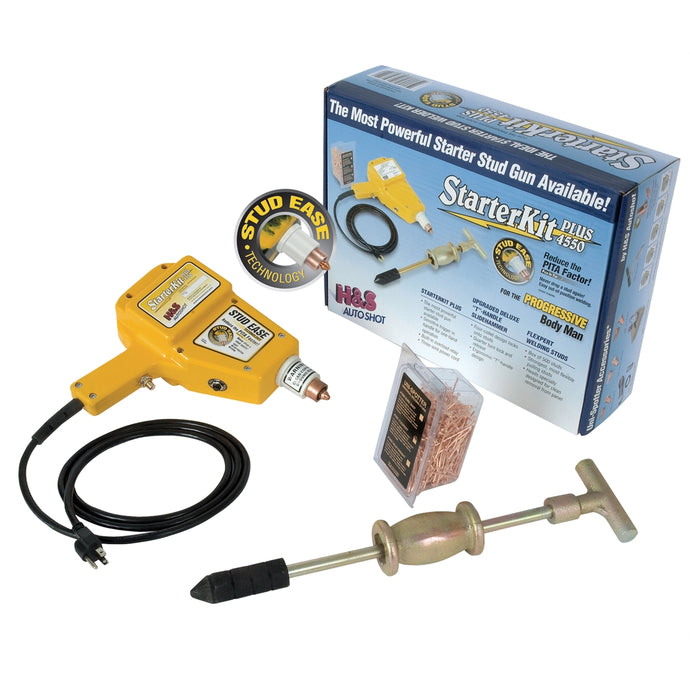 H AND S AUTO SHOT Starter Plus Stud Welder Kit HSA4550