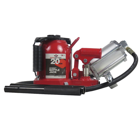 American Forge 20 Ton Low Profile Super Duty Air / Hydraulic Bottle Jack IN5621SD