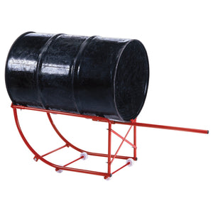 AMERICAN FORGE 55 Gallon Drum Cradle INT8656 - G and G Tools
