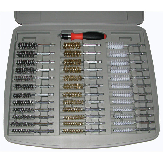 INNOVATIVE PRODUCTS OF AMERICA 36Pc Bore Brush Set W/ 1/4 Driver Handle IPA8001D