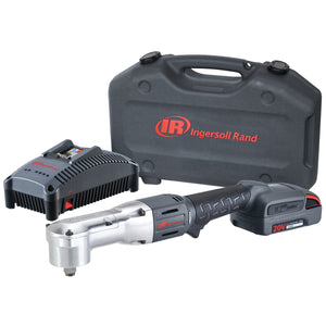 "INGERSOLL RAND 1/2"" 20V Right Angle Impact 1 Bat Kit, 2.5Ah IRTW5350-K12"