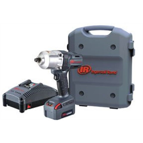 "INGERSOLL RAND 1/2"" Impact Wrench 20V - One Battery Kit, 5 Amp IRTW7150-K12"