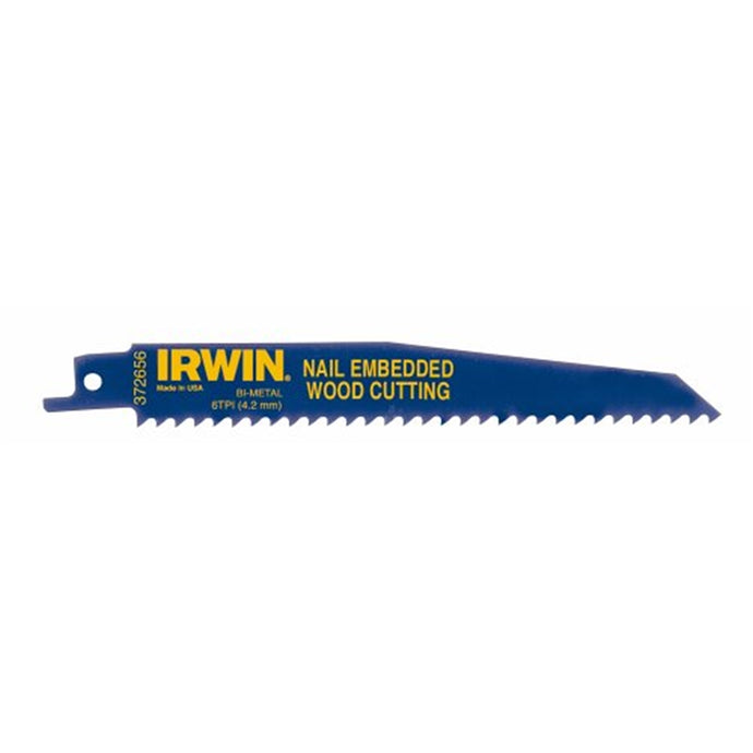 IRWIN INDUSTRIAL Recip Saw Blades 6