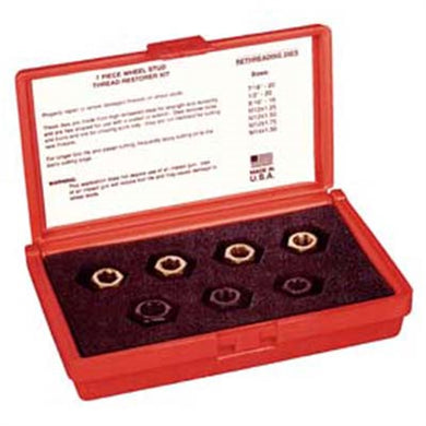 KASTAR Wheel Stud Thread Restorer Kit 7Pc KAS2583