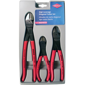 GRIP ON 3-Piece High Leverage Diagonal Cutter Set KNP002005S2