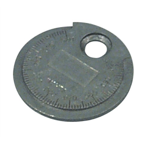 LISLE Spark Plug Gauge Coin Type .020 To .100In. LIS67870