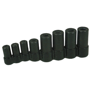 LISLE Tap Socket Set 8 Pc For All Mcti Taps Thru 1/2In. LIS70500
