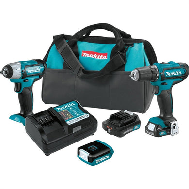 MAKITA 3PC 12V Cordless Combo Kit (1.5Ah) MAKCT323 - G and G Tools