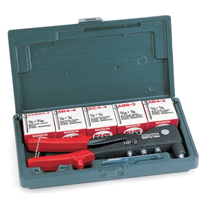 MARSON Riveter Hand Kit Hp-2 W/Rivets MAR39001