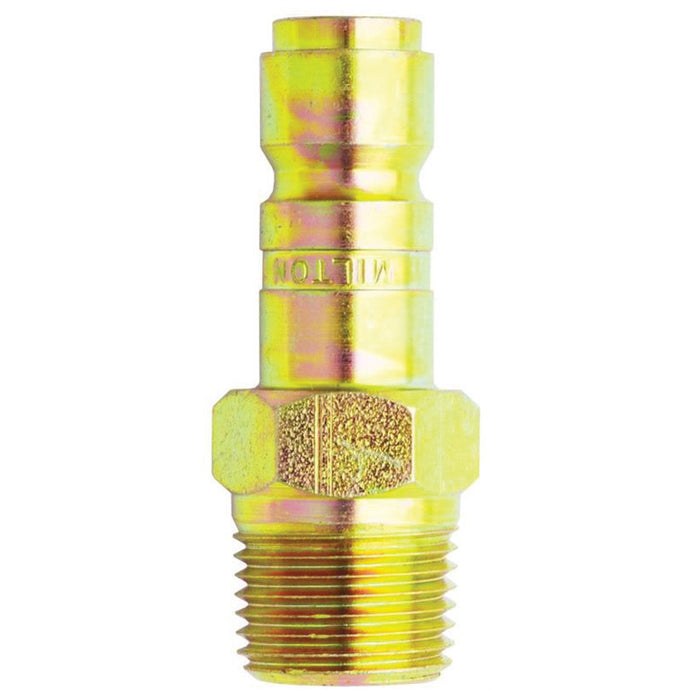 MILTON INDUSTRIES 3/8 Npt Male Plug MIL1819