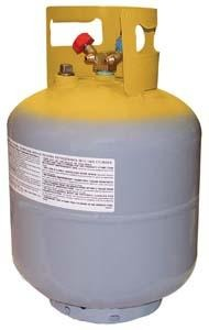 MASTERCOOL 50 lb. DOT Tank with 1/2