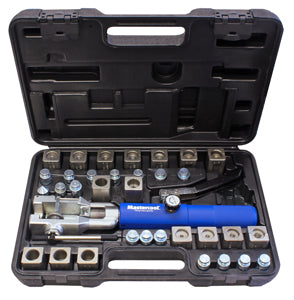 MASTERCOOL Univ. Hydra Flare Set W/ Tube Cutr +Gm Trans Set MSC72485