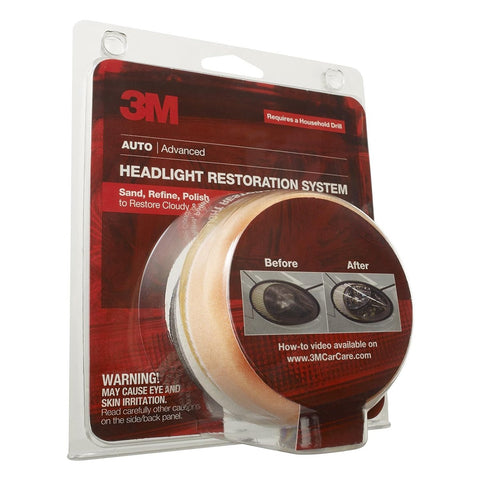 3M Headlight Restoration System MMM39008