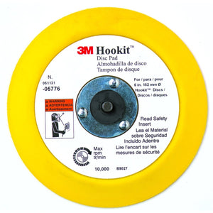 3M Hookit Pad 6In MMM5776 - G and G Tools