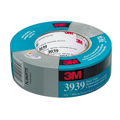 3M Duct Tape Tartan Silver #3939 2In 60Yds MMM6975