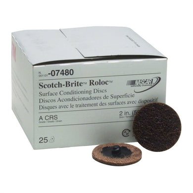 3M Scotch-Brite Cs Roloc 25Ea MMM7480 - G and G Tools