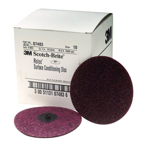 3M Disc Roloc 4 Md 10/Bx MMM7483 - G and G Tools