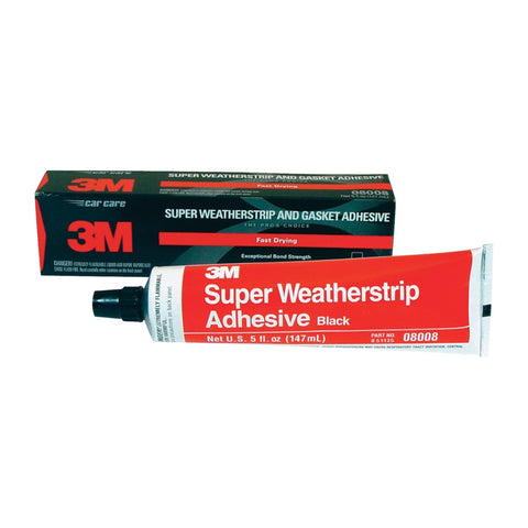 3M Super Weather Adhesive 5Oz Tube Black_ MMM8008