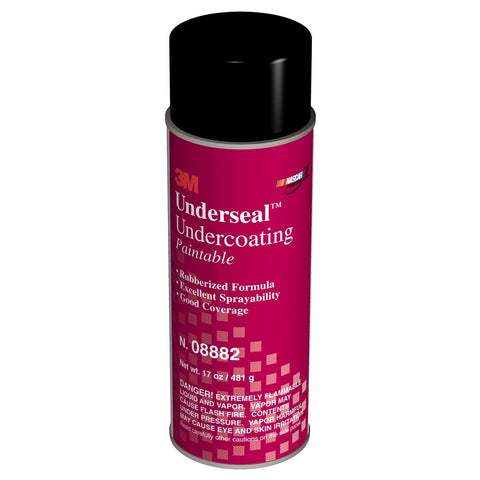 3M Black Underseal Undercoating Rubberized MMM8882