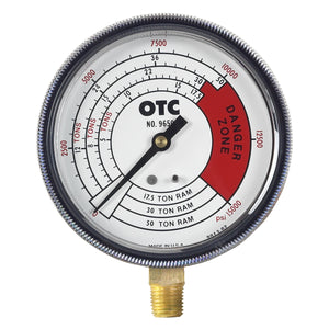 OTC Gauge Pressure And Tonnage 4 Scales OTC9650