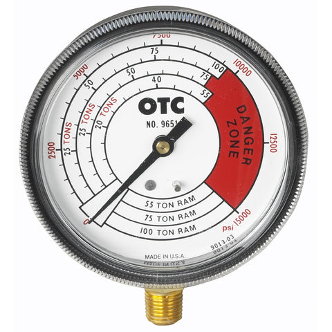 OTC Gauge Pressure And Tonnage 4 Scales OTC9651