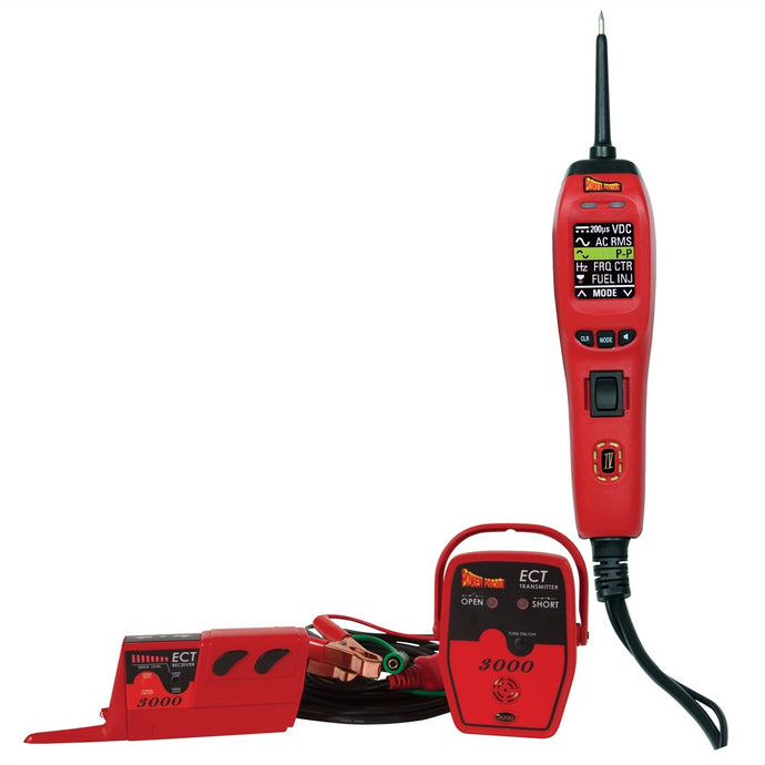POWER PROBE Power Probe 4 Master Kit with PPRPPECT3000 PPRPPKIT04 - G and G Tools