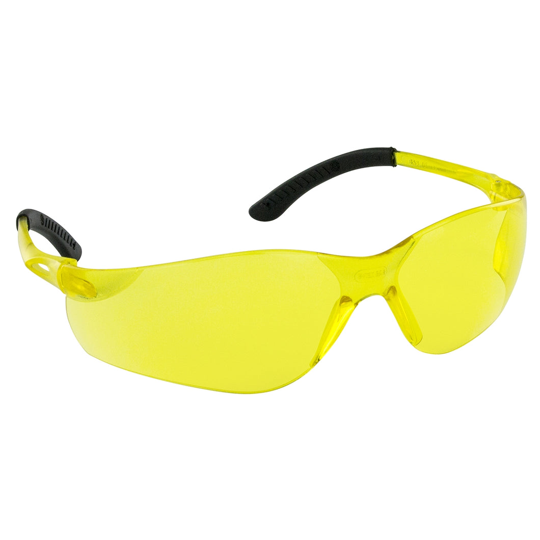 SAS SAFETY Nsx Turbo Safety Glasses Yellow Lens Polybag SAS5332