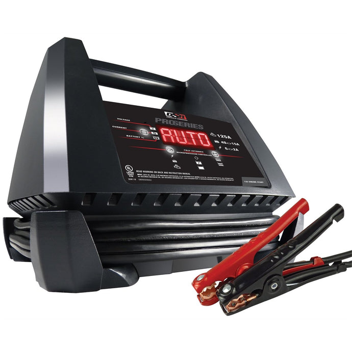 CHARGE XPRESS 125/40 15/2 Amp Charger with Service Mode SCUDSR118 - G and G Tools