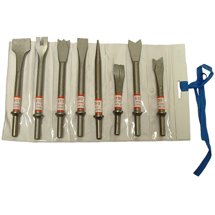 SG TOOL AID Chisel Air Set 8Pc Ec SGT52000