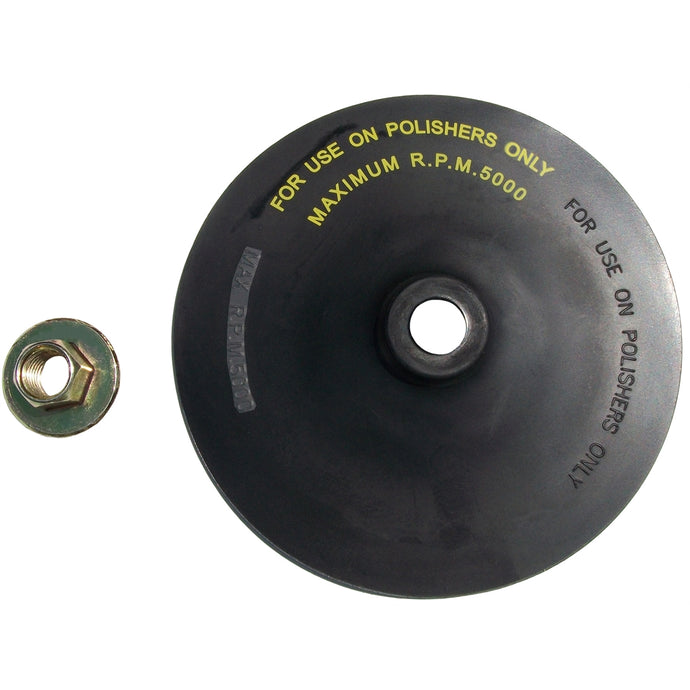 SG TOOL AID 7In Rubber Back Pad W/Nut SGT94820