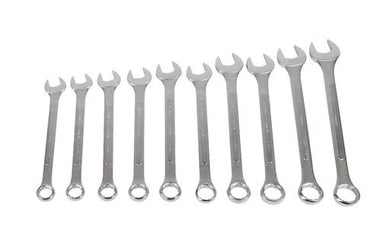 SUNEX 10 Piece SAE Raised Panel Jumbo Combination Wrench Set SUN97010A