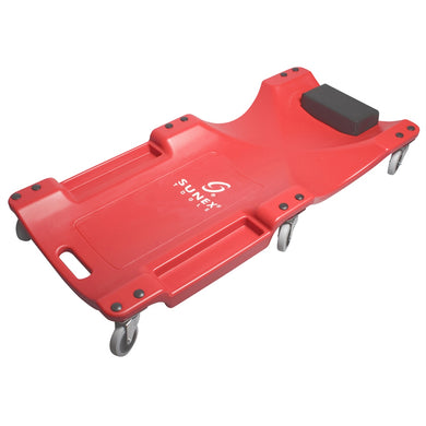 SUNEX Creeper Plastic 6 Wheel 40 Inch Red SUN8511