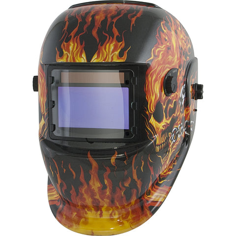TITAN Solar Powered Auto Darkening Welding Helmet TIT41266