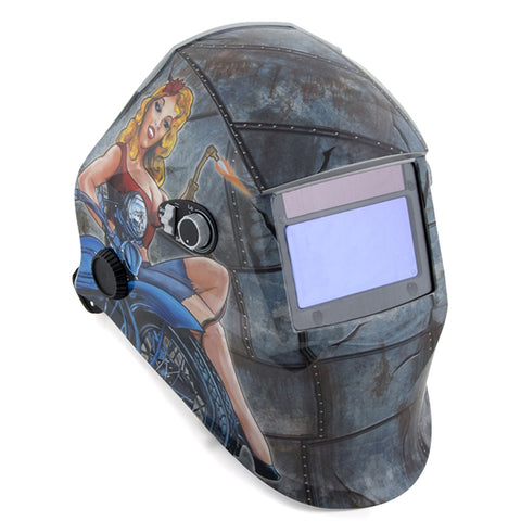 TITAN Solar Powered Auto-Darkening Welding Helmet TIT45000