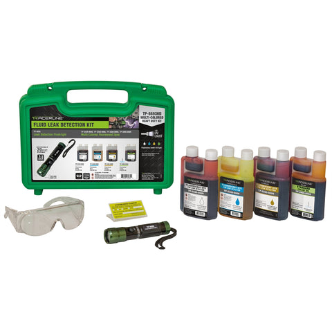 TRACER PRODUCTS Multi-Color Fluid Dye Kit TRATP8693HD