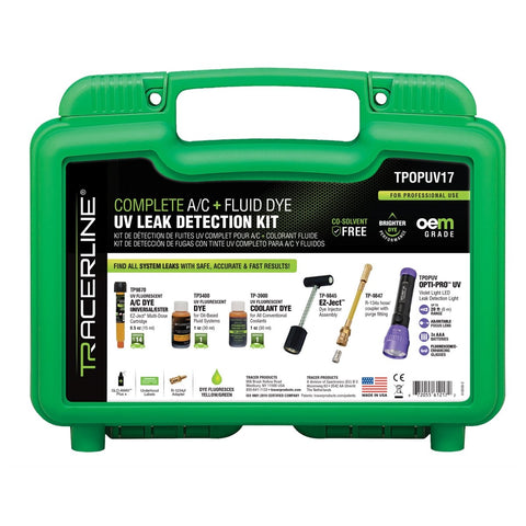 Tracer Products EZ-Ject kit with TPOPUV OPTI-PRO UV flashlight FUTPOPUV17