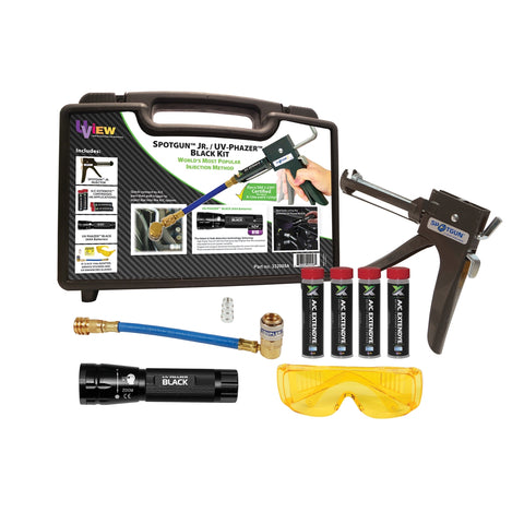 UVIEW Spotgun Jr. Uv Phazer Black (Aaa) Kit W/Extendye UVU332005A