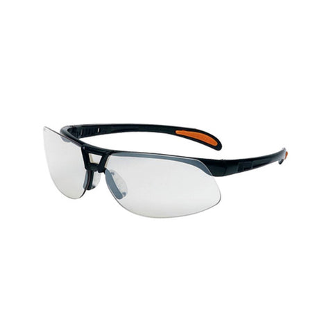UVEX Protege Safety Eyewear Black Frame Sct Reflect 50 UVXS4202