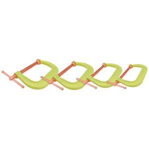WILTON Spark-Duty 400Cs Hi-Vis C-Clamp Kit WIL11114