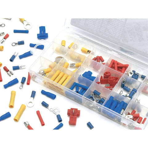 WILMAR 160 Pc Wire Terminal Assortment Kit WLMW5213
