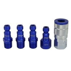 MILTON 5 PC Coupler and Plug Kit MIS-305TKIT