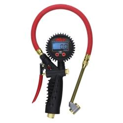 MILTON Digital Inflator Gauge with Large Bore Dual Head Chuck MIS-578A - G and G Tools