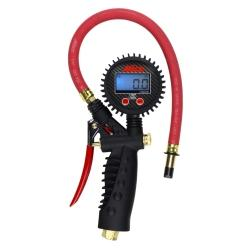 MILTON Digital Inflator Gauge with Straight Chuck MIS-574A - G and G Tools