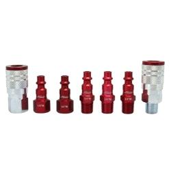 MILTON 7 PC Coupler and Plug Kit MIS-307MKIT