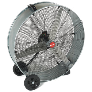 "SHOP VAC 36"" Steel Slim Drum Fan 1/3 HP SHV1185200 - G and G Tools"