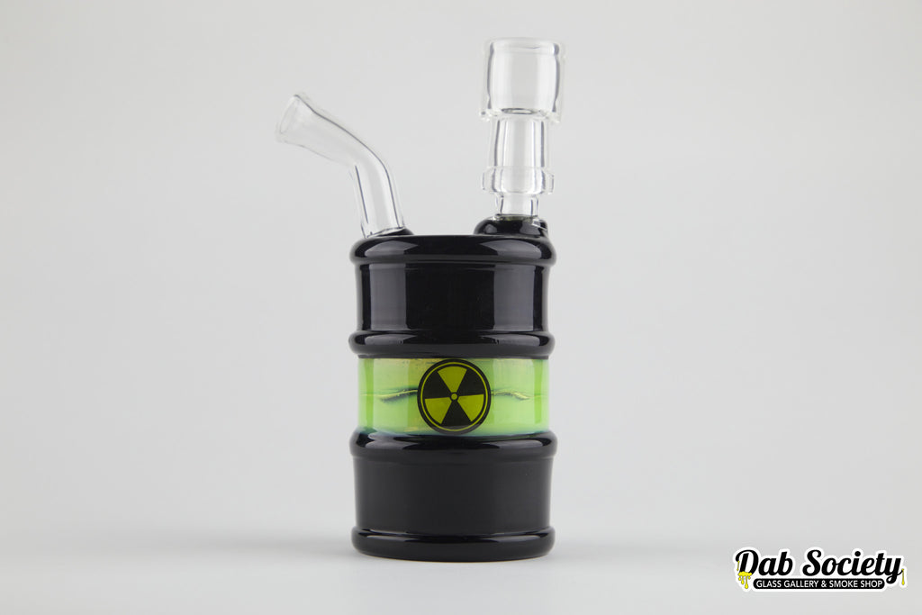 High Tech Black/Green Toxic Oil Drum