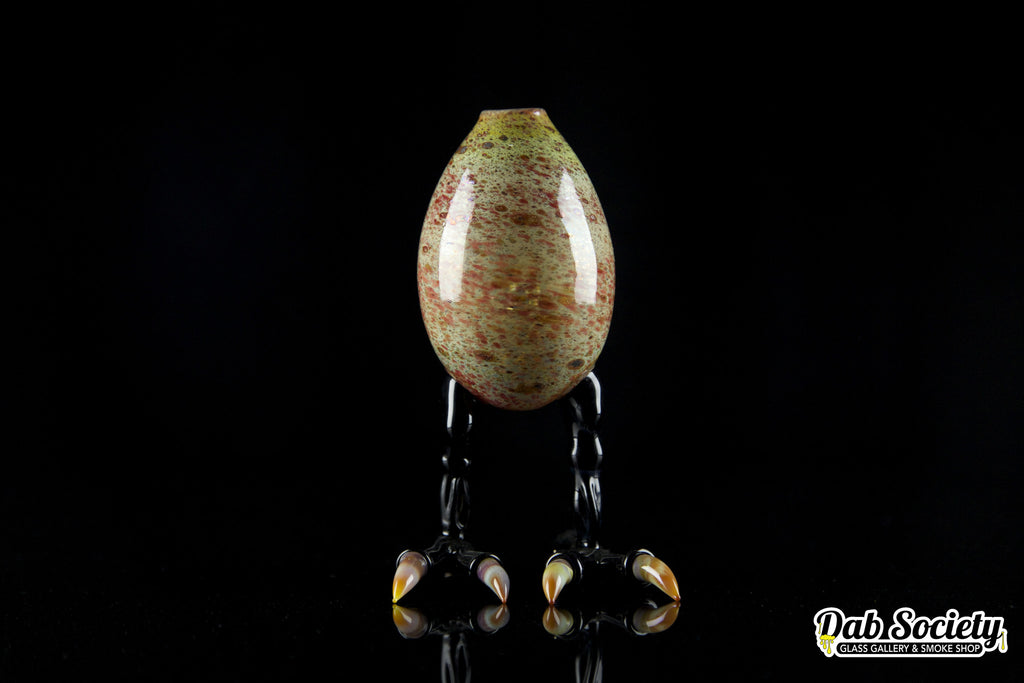 Rone Glass Dino Egg with Bird Feet