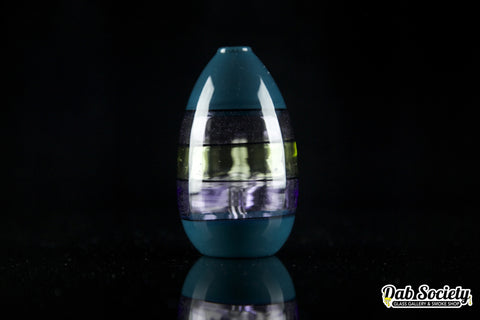 Rone Glass Purple Rain Encalmo Egg
