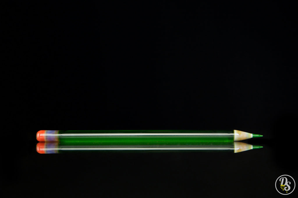 Lucid Glass Pencil Green