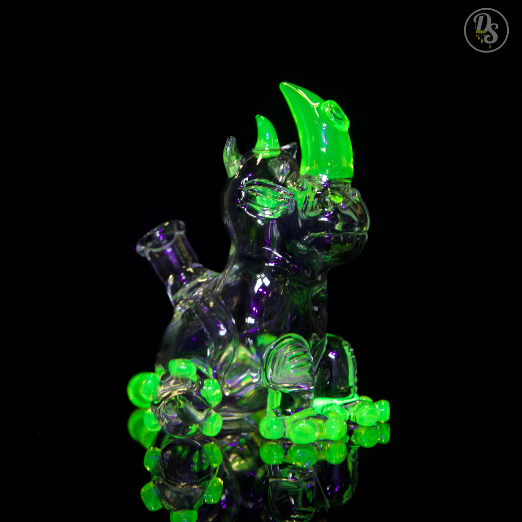 Domino Glass Illuminati/Clear Rhino